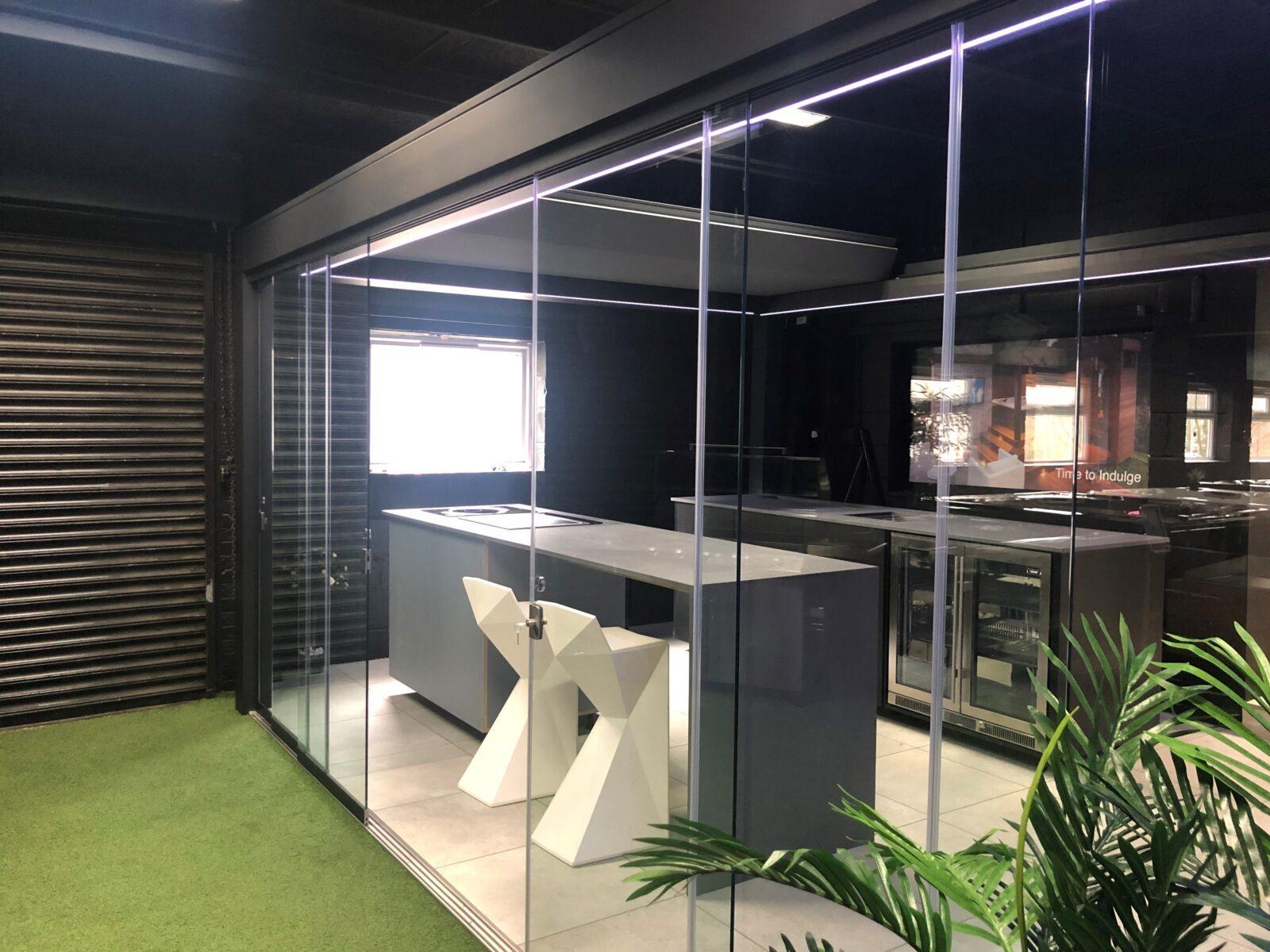 Kitchen-display-in-Loughton-showroom