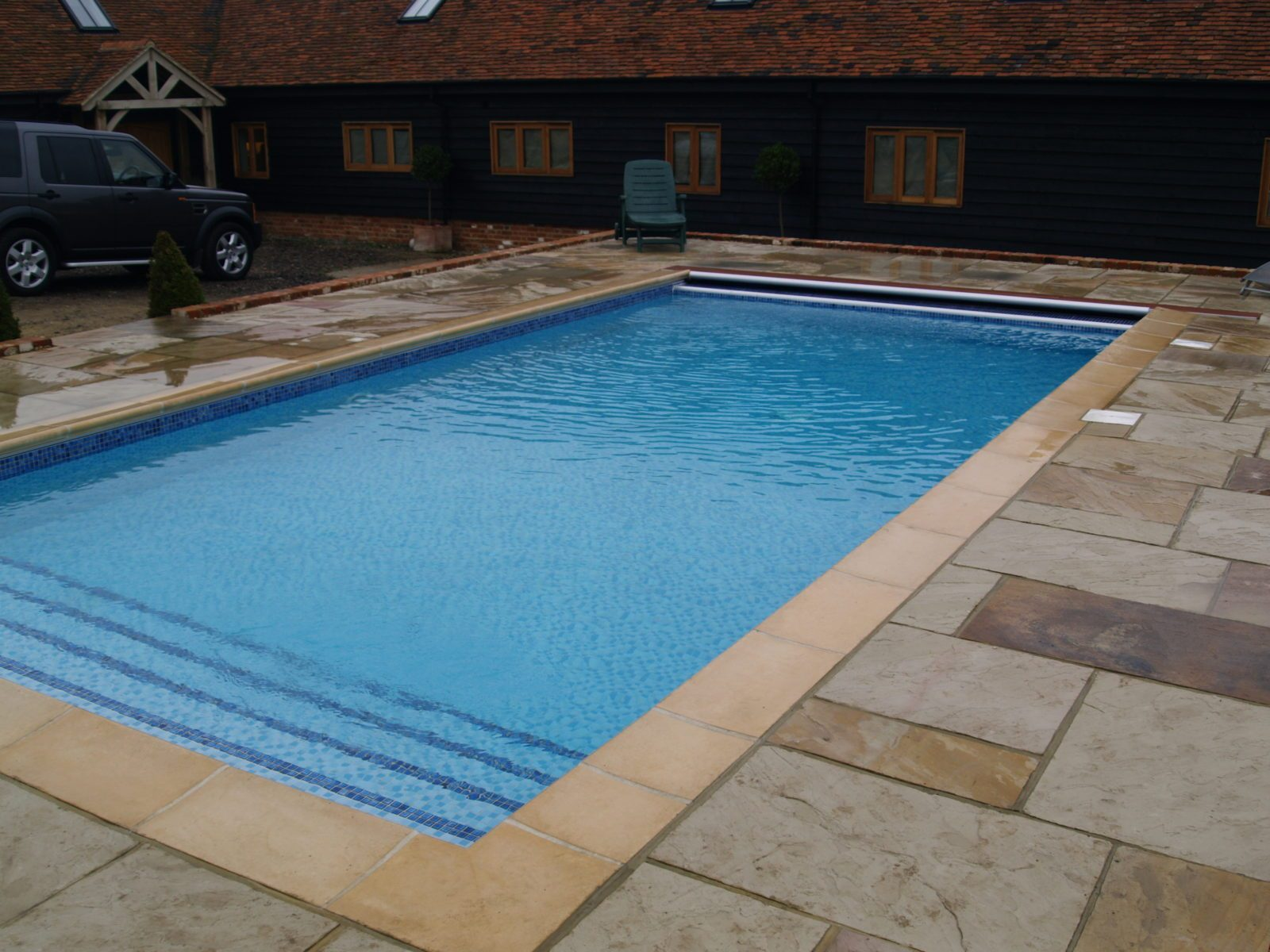 Swimming Pool range, indoor or outdoor, from the London Essex Group