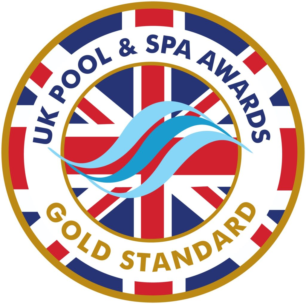 UK pool and spa awards - gold standard accreditation