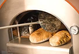 baking bread in alfa pizza oven