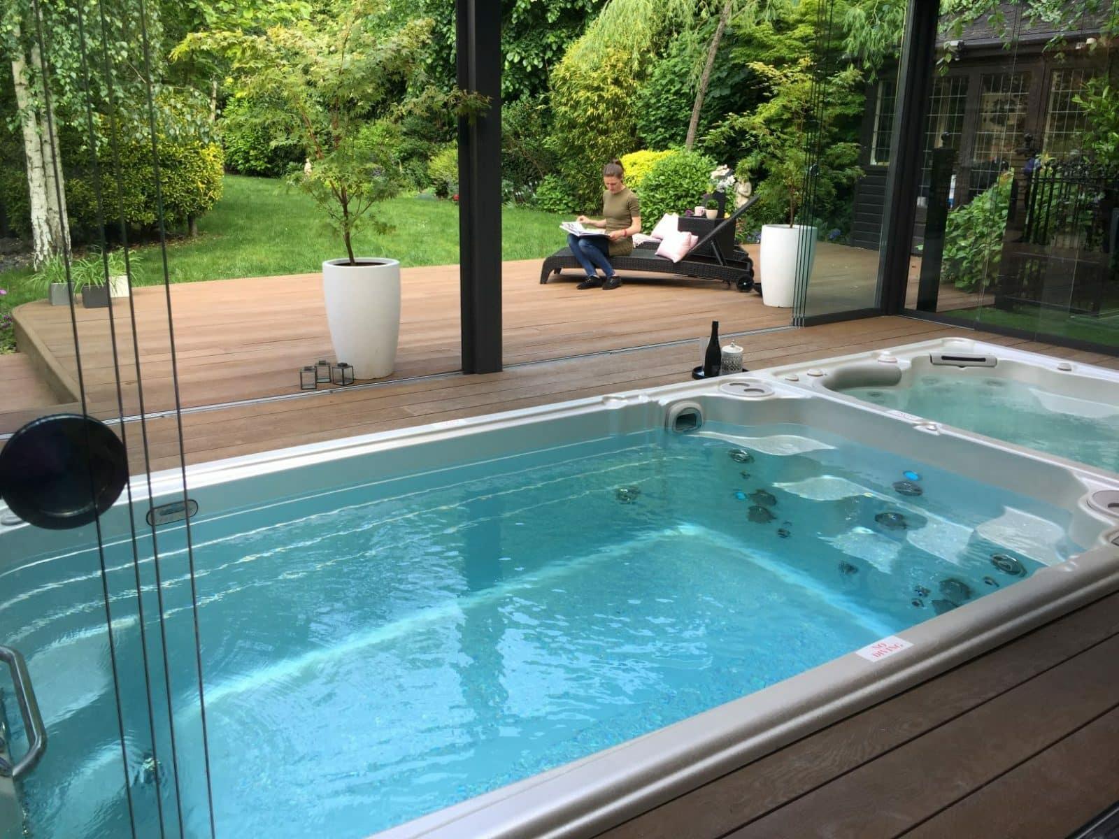 visit our award winning hot tub showroom at the london. Black Bedroom Furniture Sets. Home Design Ideas