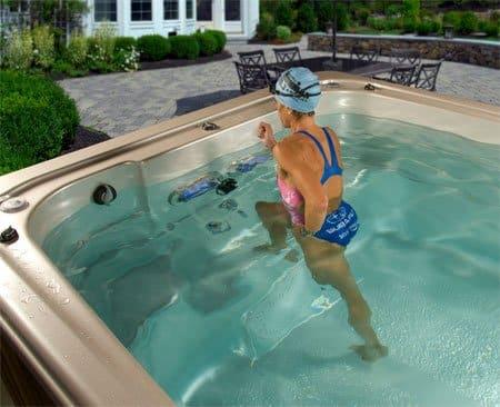 london essex group swim spa water exercising