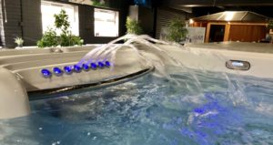 hot tub with water jets in our black friday offers