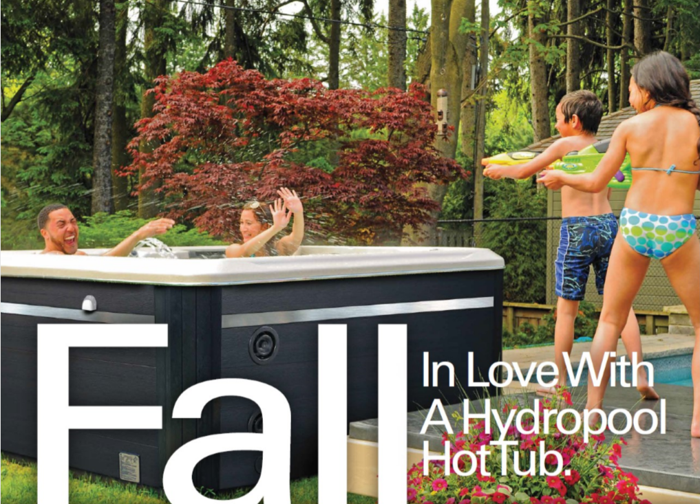 fall in love with a hydropool hot tub