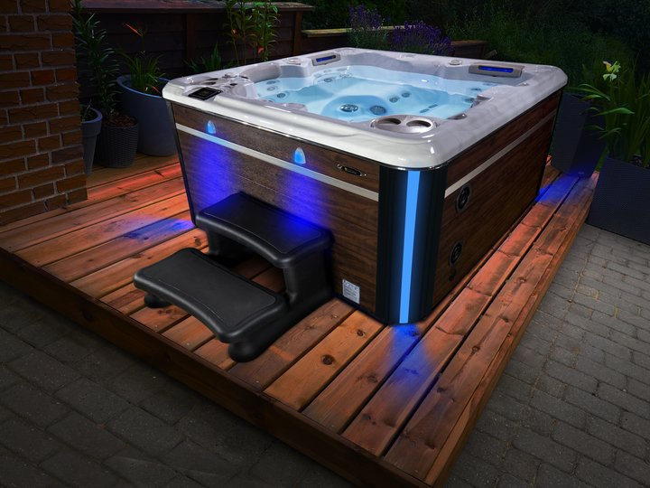 Hydropool hot tub 495 london essex outdoor living
